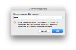 Mac Excel File password pop up 3