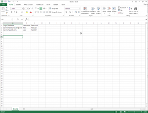 Windows Excel doc