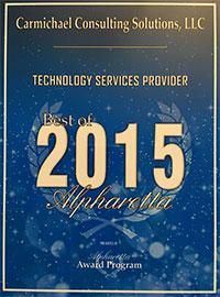 2015 Best of Alpharetta Award