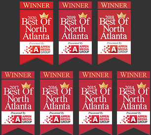 Best of North Atlanta 6 Years in a Row