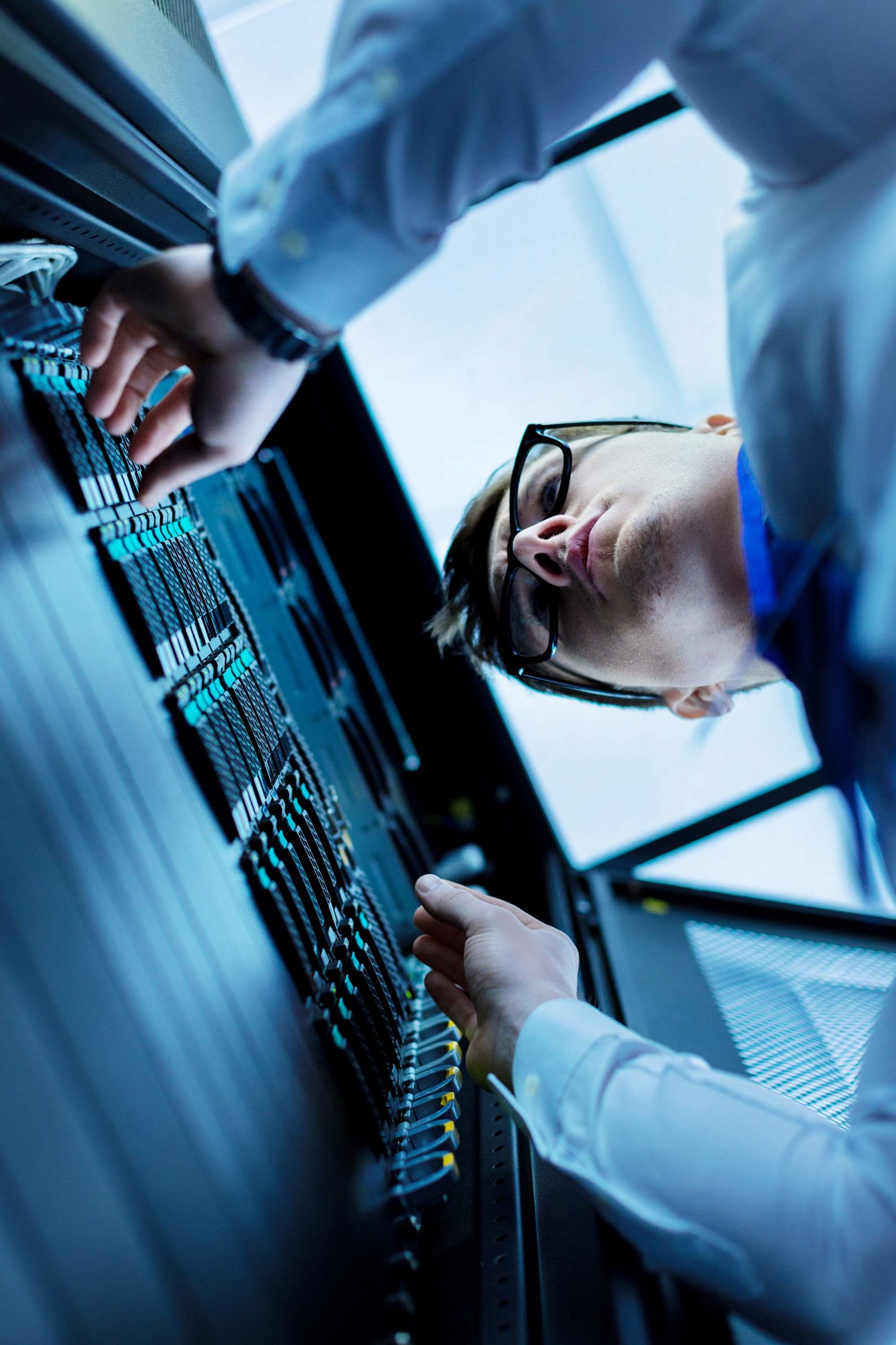 Serious data centre operator working